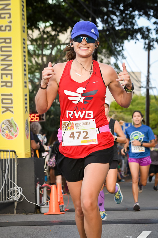 2018 King's Runner 10k, Honolulu, Hawaii